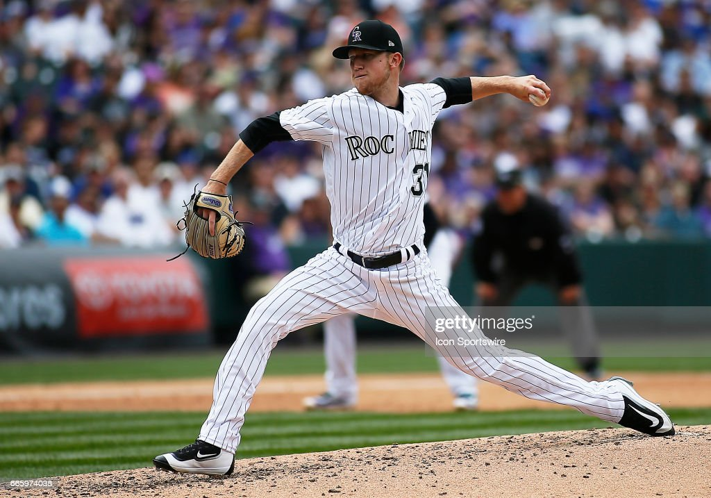 MLB: APR 07 Dodgers at Rockies : News Photo