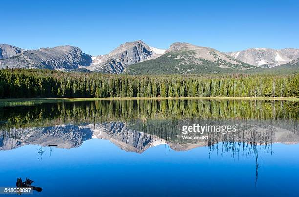 USA, Colorado, Rocky Mountain National Park, Bierstadt Lake