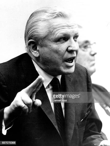 Colorado Senate Committee ***** Francis S Van Derbur Denver mortician over some hot coals of inquiry Thursday but then gave him nearunanimous...