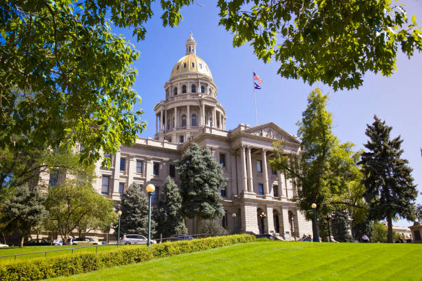 colorado state capitol - colorado state capitol stock pictures, royalty-free photos & images