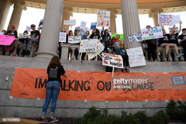 Colorado students and supporters descended on Civic Center Park for the March for Our Lives to call on lawmakers to end gun violence and ensure...