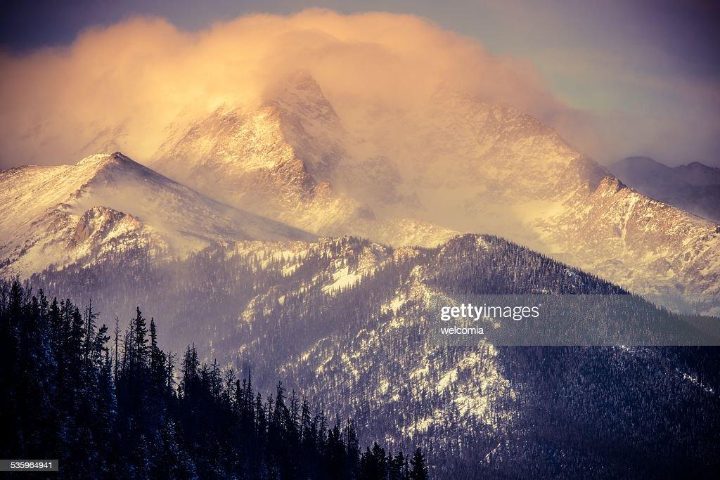 Colorado Winter Landscape : Stock Photo