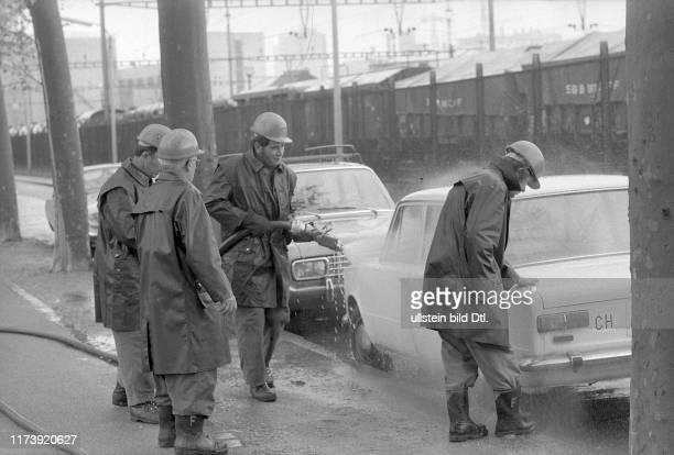 Colorant colourant deposit precipitation caused by Ciba Geigy Basle 1973