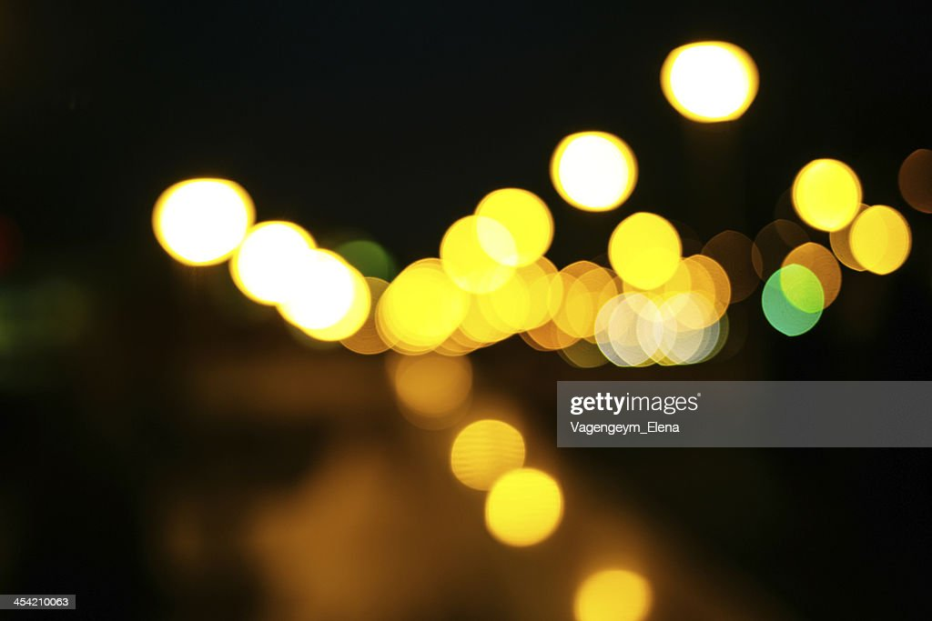 Colored bokeh background : Stock Photo