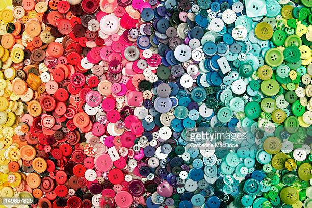 colored buttons - catherine macbride stock pictures, royalty-free photos & images