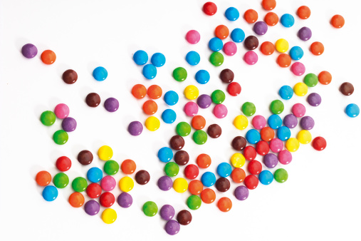 Colored chocolate candies - gettyimageskorea