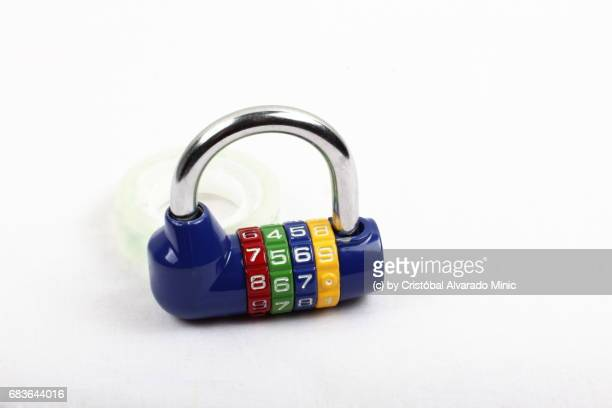 Colored Combination Lock