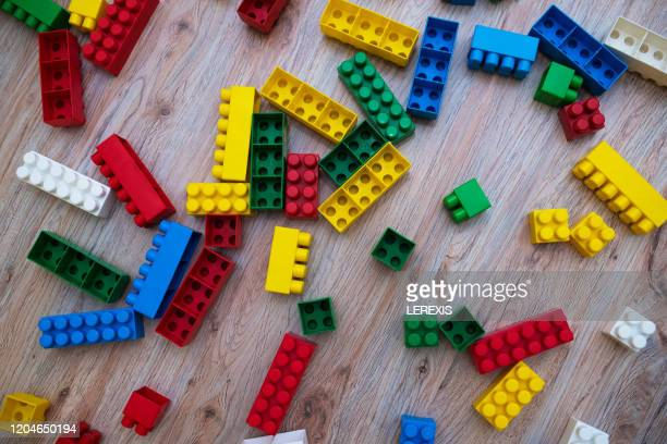 colored cubes to play - leisure games stock pictures, royalty-free photos & images