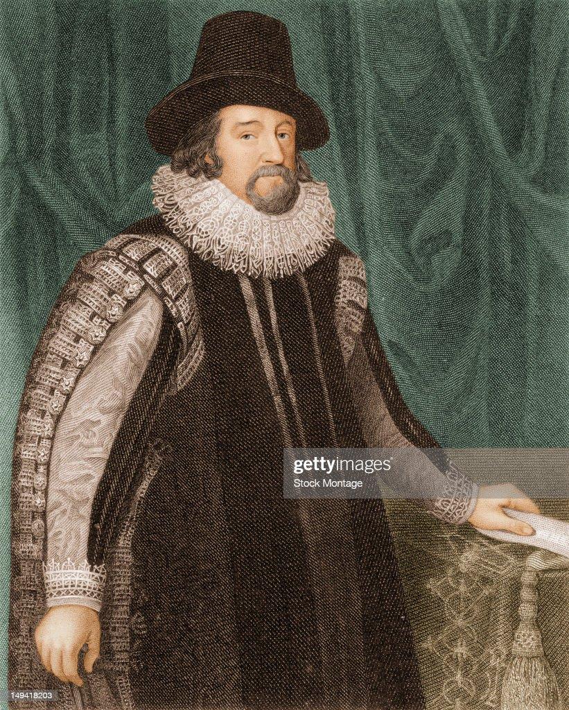 Portrait Of Sir Francis Bacon : News Photo