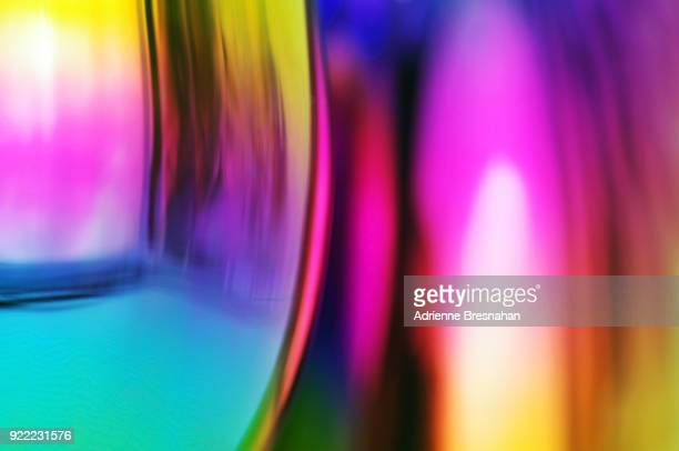 Colored Glass Abstract Light Effects