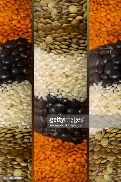colored legumes - miguelangelortega fotografías e imágenes de stock