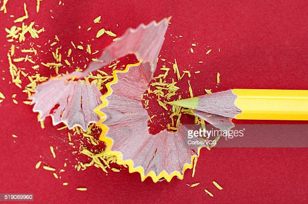Colored Pencil and Pencil Shavings