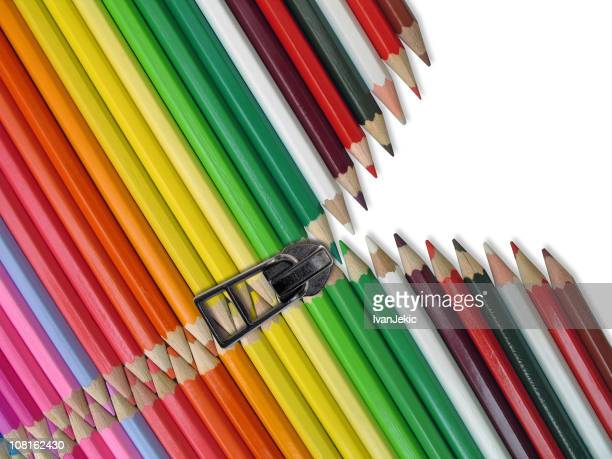 Colored Pencil Crayons with Zipper