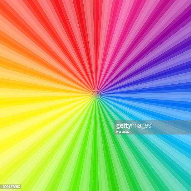 Bunte abstrakte Hintergrund mit Regenbogen-Farben