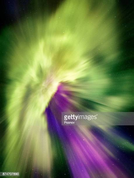 Colorful and Strong Aurora