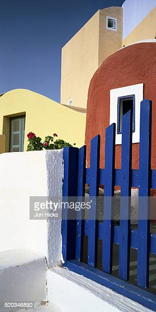 Colorful Apartments in Oia