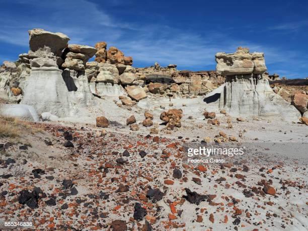 Colorful Badlands, Ah-Shi-Sle-Pah Wilderness Study Area, NM
