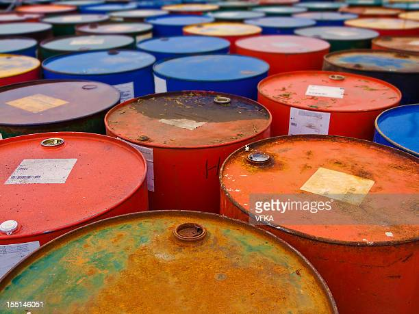 Colorful Barrels