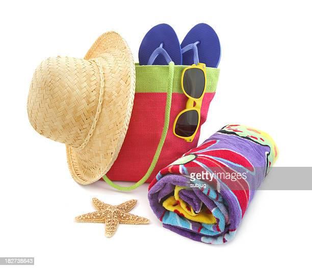 Des accessoires de plage coloré