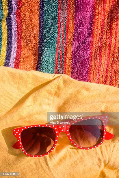 Colorful beach detail