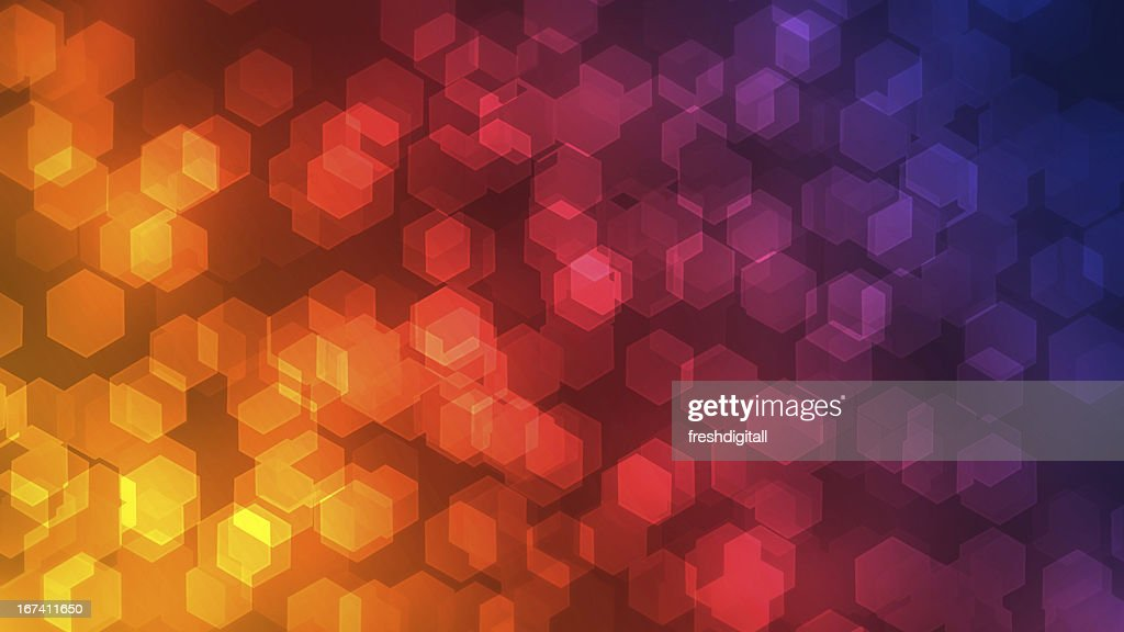 colorful bokeh background : Stock Photo