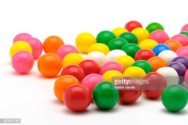 colorful bubble gum