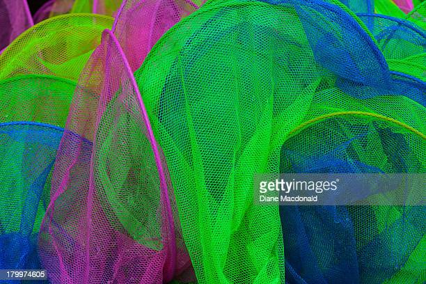 Colorful butterfly nets