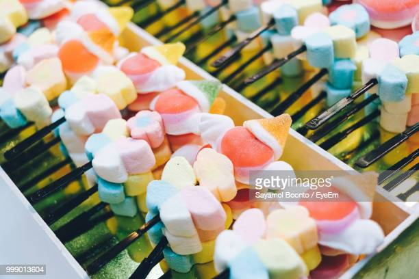 Colorful Candies For Sale At Store