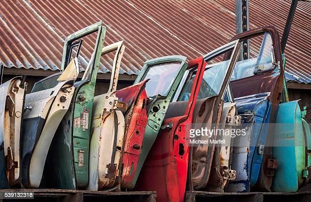 Colorful Car Doors