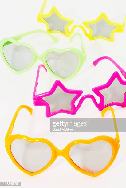 Colorful children's plastic party eyeglasses