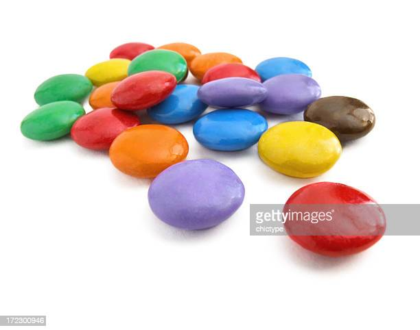 Colorful chocolate candies