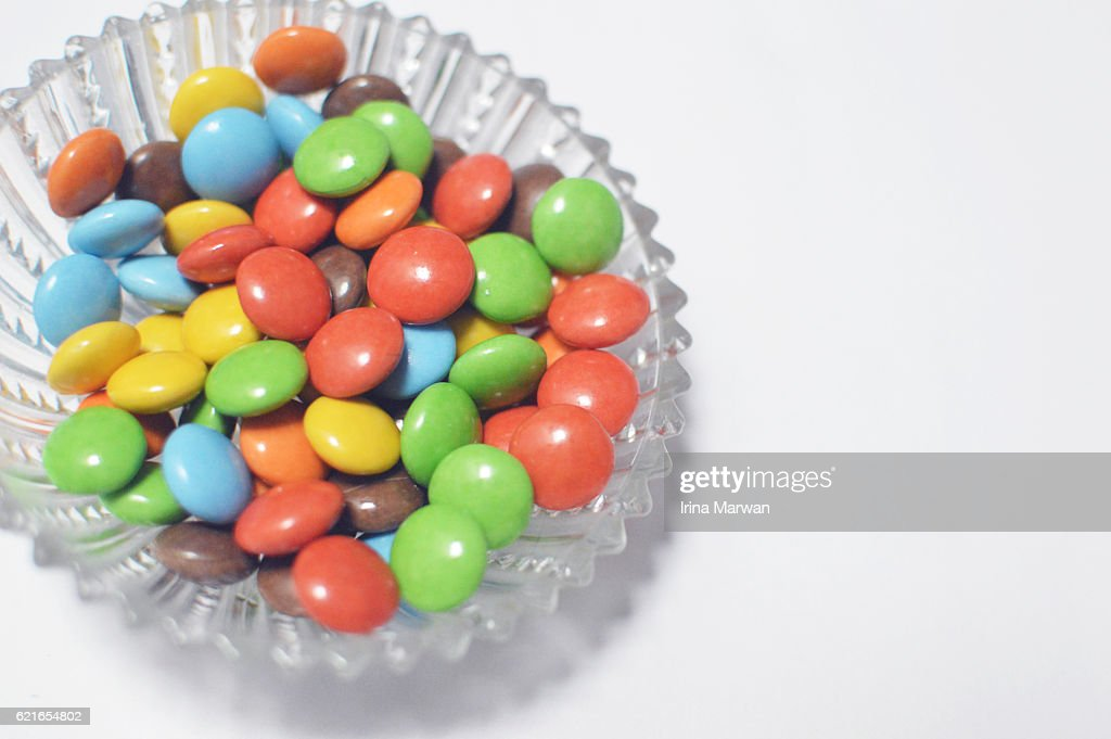 Colorful Chocolate Candies : Foto de stock