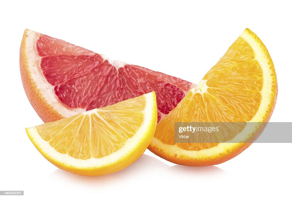 colorful citrus slices : Stock Photo