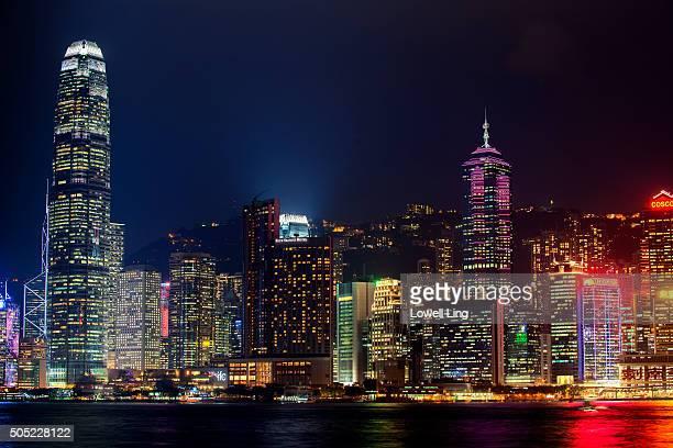 Colorful City of Hong Kong