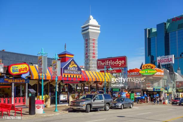 World S Best Niagara Falls Canada Clifton Hill Stock