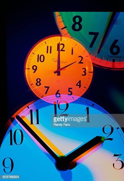 Colorful Clocks