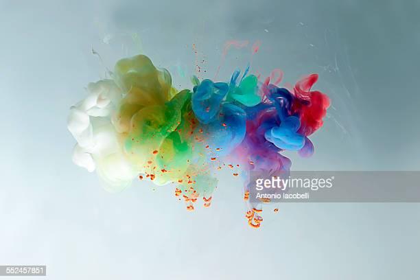 Colorful cloud