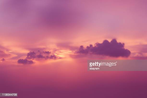 colorful clouds - purple stock pictures, royalty-free photos & images