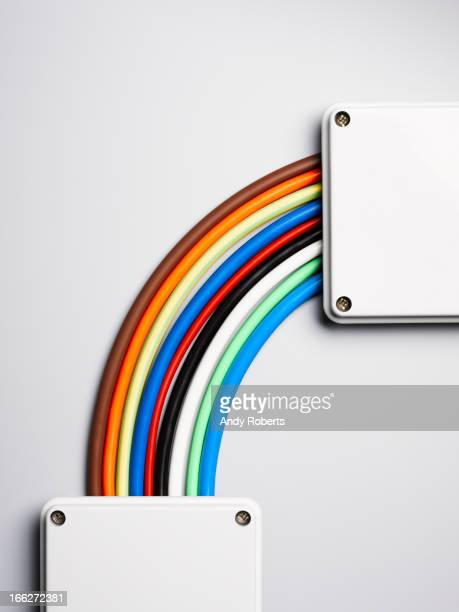 Cordons de serrage de couleur arc-en-ciel en forme