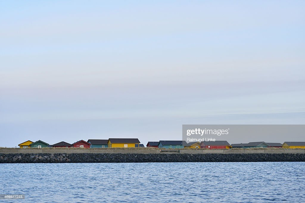 Colorful Cottages : Stock Photo