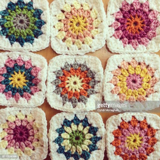 Colorful Crochet Squares