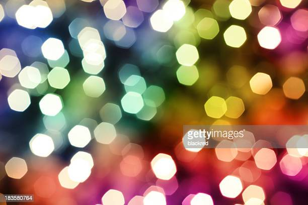 colorful defocused lights - soft focus stock pictures, royalty-free photos & images