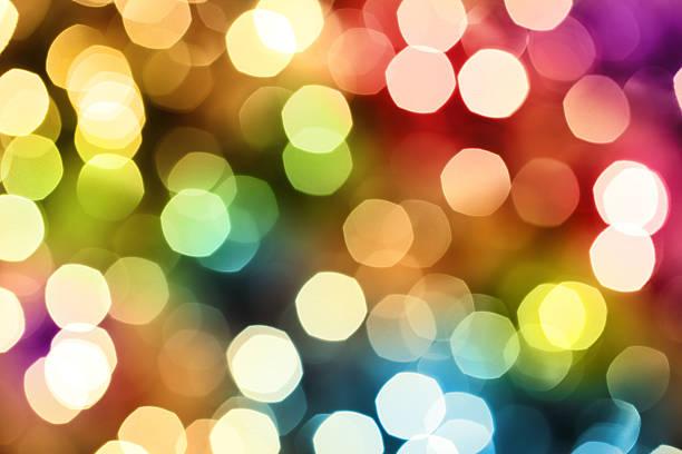 Colorful Defocused Lights