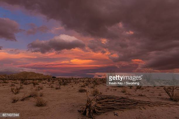 Colorful Desert Sunset Clouds