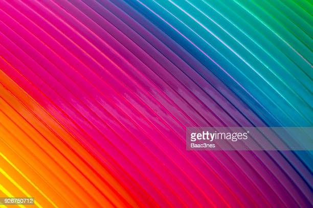 colorful diagonal lines - rainbow stock pictures, royalty-free photos & images
