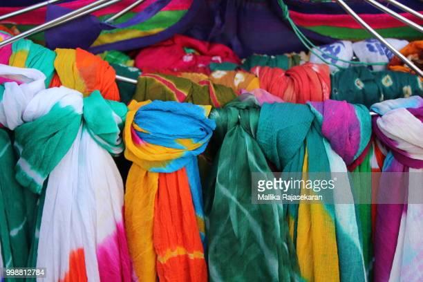 Colorful Duppattas