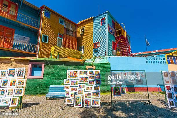 Colorful facades, Caminito, Buenos Aires
