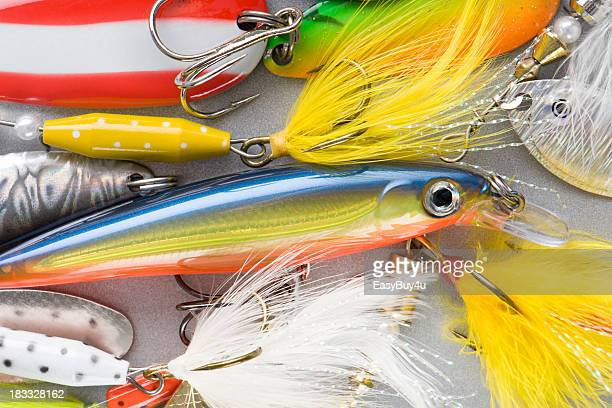 Colorful fishing baits