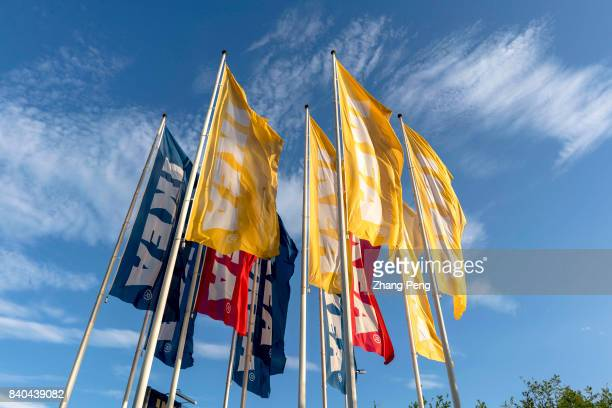 Colorful flags of IKEA flying in the sky A financial report released by IKEA China on August 18th shows that IKEA still maintained two digit growth...