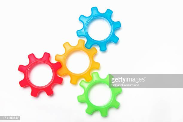 Colorful Gear Connection